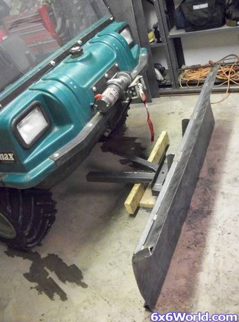 Homemade Snow Plow For Atv Homemade Ftempo