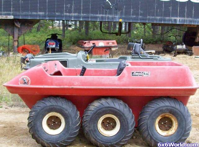 Bee hoo amphicat restoration projects sold amphibious atv pictures