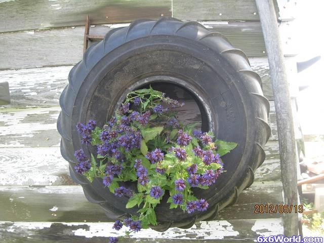 New use for Old Chevron Tires
