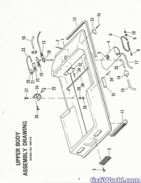 amphicat parts manual