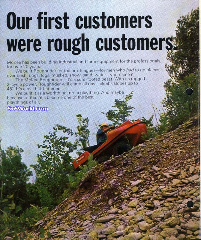 6x6 World - McKee Brothers Roughrider Amphibious ATV