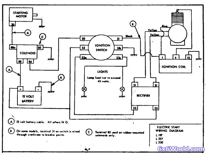 jlo engines starter wiring diagram 1 6x6 world jlo two stroke engine MTD Riding Mower Wiring Diagram at bakdesigns.co
