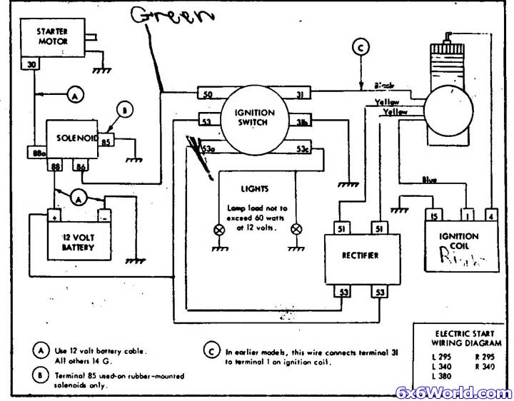 diagrams wiring   murray ignition switch diagram