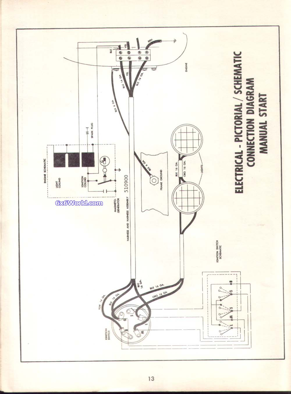 Polaris 325 Magnum Parts Diagram Electrical Wiring Schematic For 2000 Manual 2002
